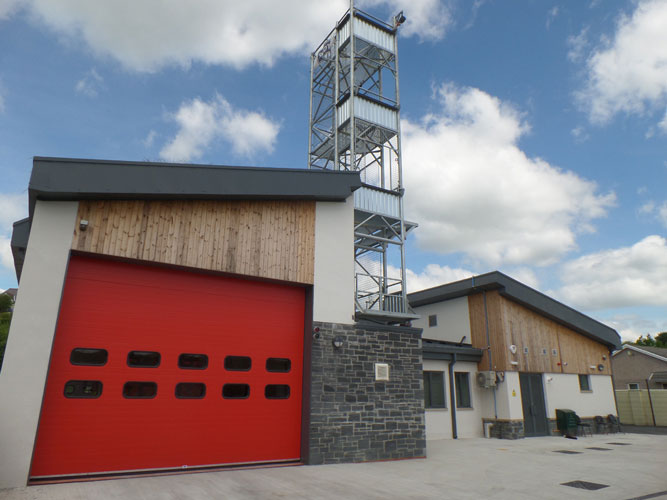 Hirwaun Fire Station