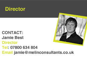 Jamie Best, Melin Consultants