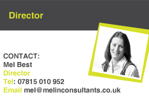 Mel Best, Director at Melin Consultants
