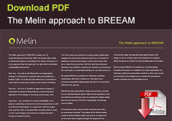 The Melin approach to BREEAM
